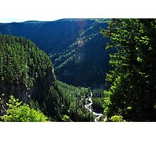 Spahats Creek - Wells Gray Provincial Park Photographic Print