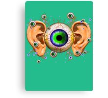 EYES and EARS Canvas Print