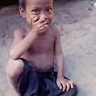 Hilltribe boy, Thailand. by John Spies
