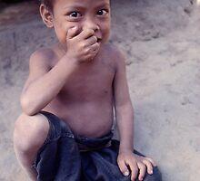 Hilltribe boy, Thailand. by John Spies