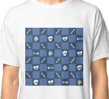 Bone Grid Classic T-Shirt