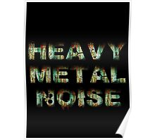 HEAVY METAL NOISE Poster