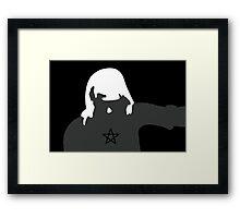 Wicca Girl Framed Print