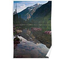 Avalanche Lake, Montana Poster