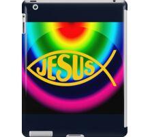 JESUS RAINBOW FISH ICHTHYS iPad Case/Skin