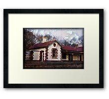 ~ Nairne Railway Station ~ Framed Print