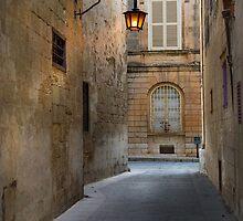 Mdina Silent Street Malta by Edwin  Catania