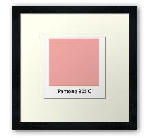 pantone Framed Print