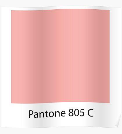 pantone Poster