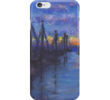 Oceanside Sunset (Pastel) iPhone Case/Skin