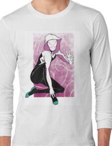 Spider-gwen Peace Long Sleeve T-Shirt