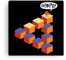 Q*bert's Conundrum Canvas Print