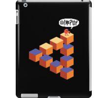 Q*bert's Conundrum iPad Case/Skin