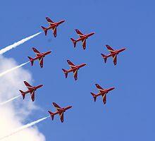 Red Arrows by Adam Robbins