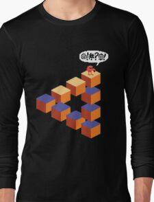 Q*bert's Conundrum Long Sleeve T-Shirt
