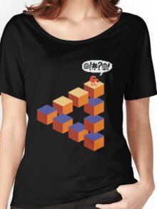 Q*bert's Conundrum Women's Relaxed Fit T-Shirt