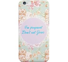 Wise words to live by iPhone Case/Skin