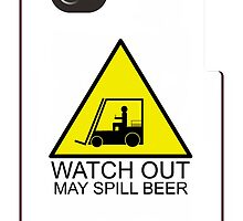 Watch Out-May Spill beer by Khrome Photography