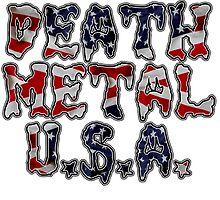 DEATH METAL U.S.A. by sleepingmurder