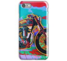 BSA Motorcycle Abstract iPhone Case/Skin