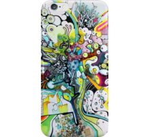 Tubes of Wonder - Abstract Watercolor + Pen Illustration iPhone Case/Skin