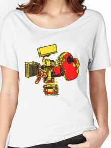 GRAPHIC FILM CAMERA Women's Relaxed Fit T-Shirt