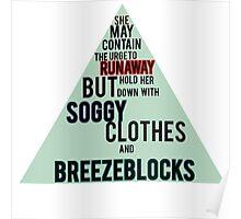 Breezeblocks by Alt-J Poster