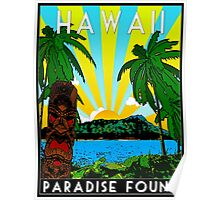 HAWAII - PARADISE FOUND Poster