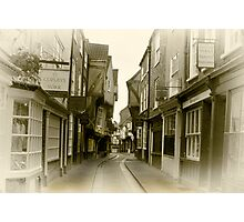 Shambles - York. Photographic Print