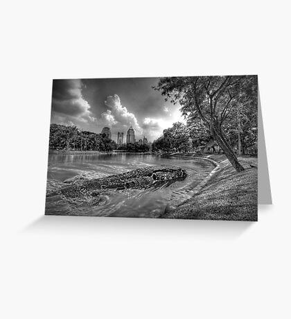 Bangkok Loch Ness Greeting Card