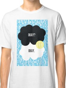 The Fault in Our Stars Typography Classic T-Shirt