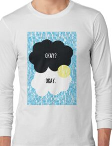 The Fault in Our Stars Typography Long Sleeve T-Shirt