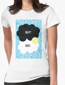 The Fault in Our Stars Typography Womens Fitted T-Shirt
