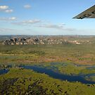 Kakadu from the air. The wetlands by georgieboy98