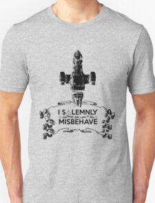 I Solemnly Swear That I Aim To Misbehave...Again T-Shirt