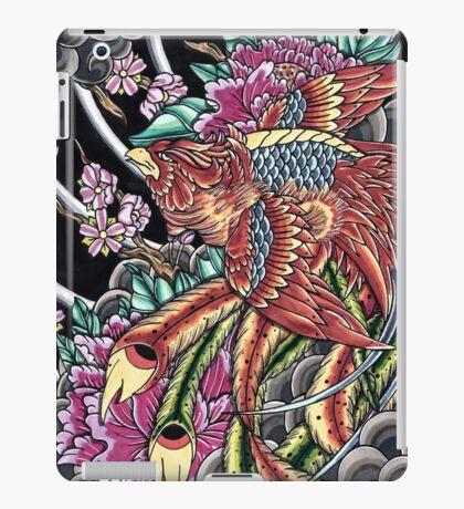 Japanese Phoenix  iPad Case/Skin