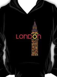 London Typography T-Shirt