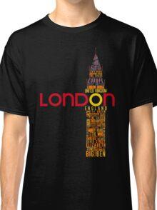 London Typography Classic T-Shirt