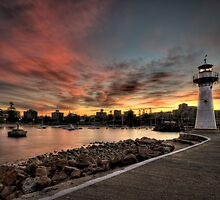 Sunset at Wollongong by Jason Pang, FAPS FADPA