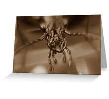 armour plate! Greeting Card