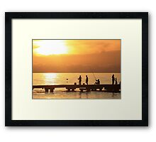 """""""The simple life"""" Framed Print"""