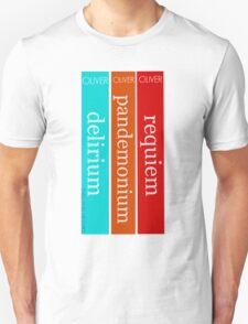 The Delirium Trilogy by Lauren Oliver Unisex T-Shirt