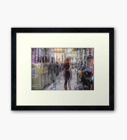 Off Centre Place, Melbourne Framed Print