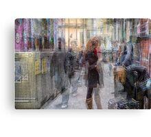 Off Centre Place, Melbourne Canvas Print