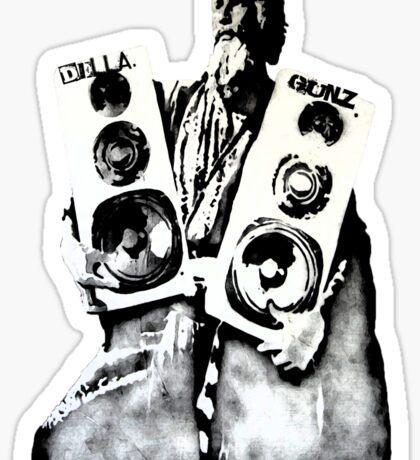 Della Speakers Sticker