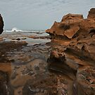 Rocky Cove by Warren. A. Williams