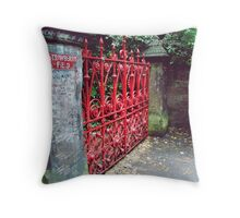 Strawberry Field Throw Pillow