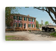 Cook's Tavern and Livery Canvas Print