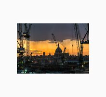 London Cityscape Sunset Unisex T-Shirt