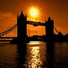 Sunrise Over Tower Bridge by Graham Prentice
